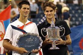 Novak Djokovic defeated Roger Federer