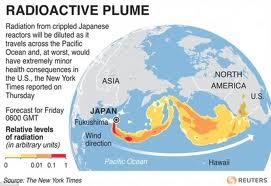 U.S. stocks fall down over panic on Japan radiation, Libya conflict